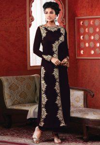 embroidered-pakistani-velvet-suit