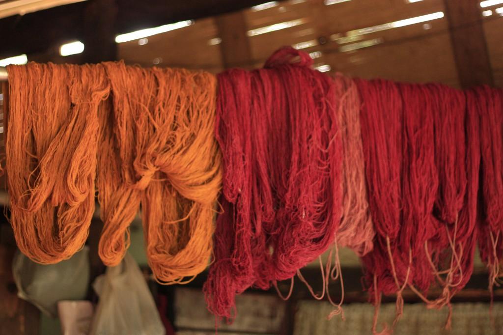 Naturally Dyed Eri Silk