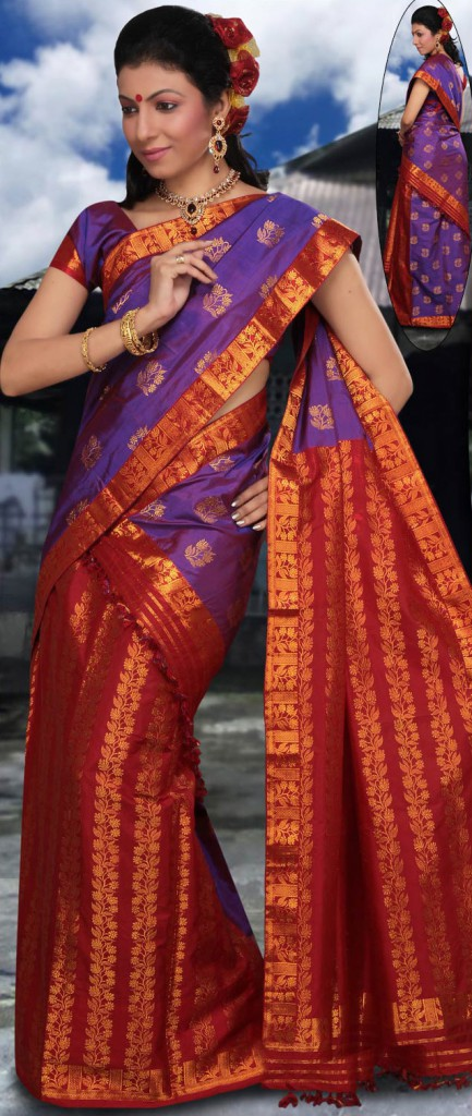 Mekhla Chadar @ Utsav Fashion