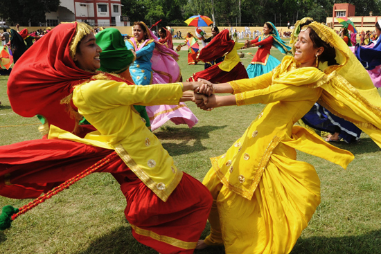 Women Performing Giddha (Source: PBS)