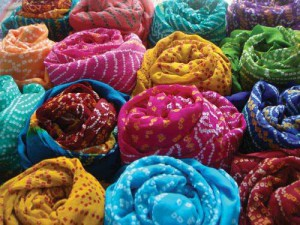 Leheria Print Turbans