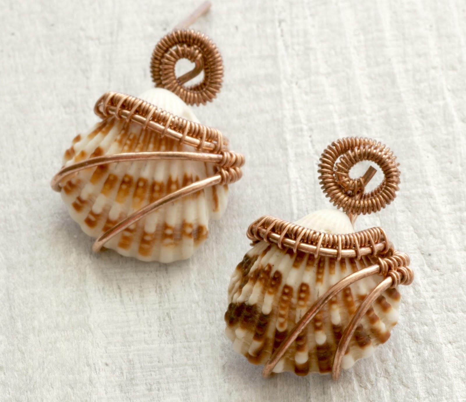 All About Sea Shell Beads Jewelry Utsavpedia