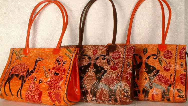 Shantinekatan Leather Bags