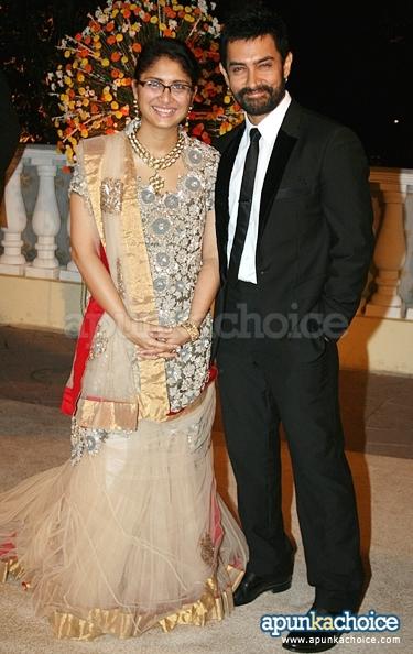 Kiran Rao And Aamir Khan Wedding