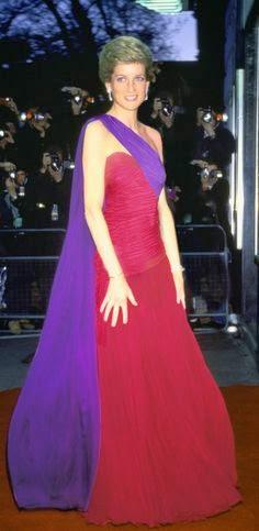 Princess Diana Saree Inspired Gown