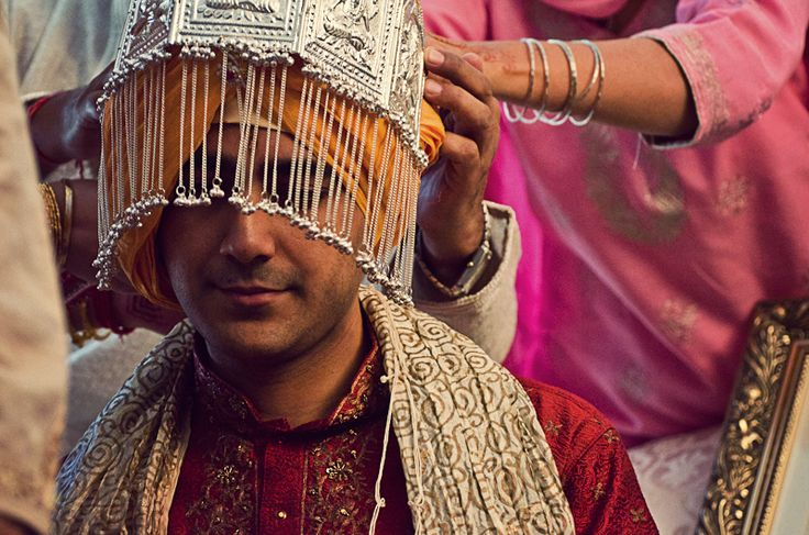 Sehra: A Traditional Wedding Indian Head Dress