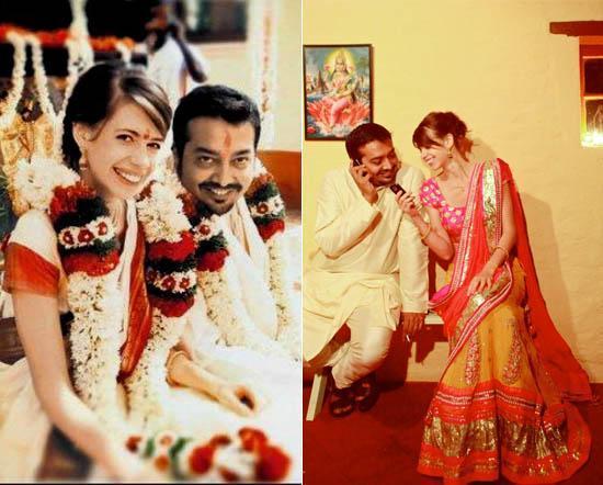 Kalki Koechlin & Anurag Kashyap Wedding