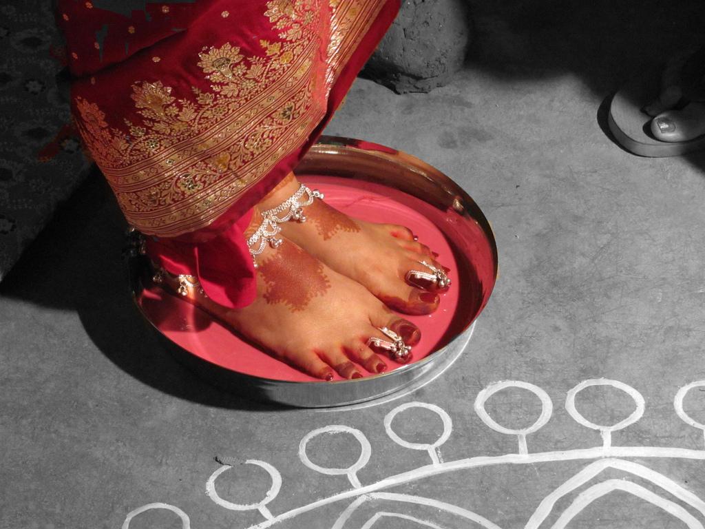 Bengali bride (Image: wikimedia)