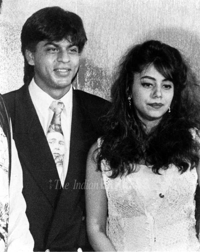Gauri and Shahrukh Khan Wedding