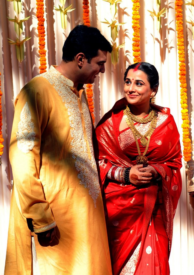 Vidya Balan and Siddharth Roy Wedding