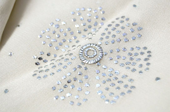 Motifs Embroidery: Sequins Work