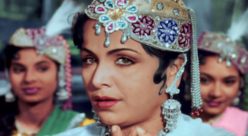 Nigar Sultana as Bahaar (Image: http://itsbollywood.tumblr.com)