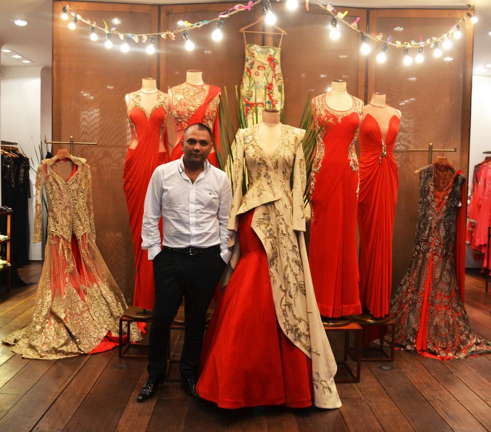 Fashion Designer Dress Cutting