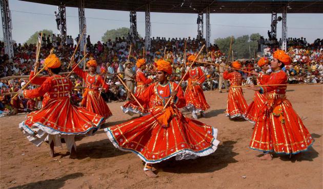Dandi Gair: Rajasthani Folk Dance