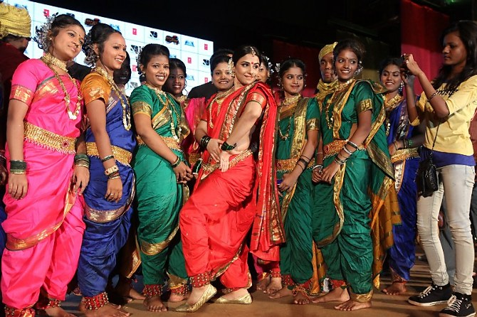 The Elegance of Nauvari Sarees