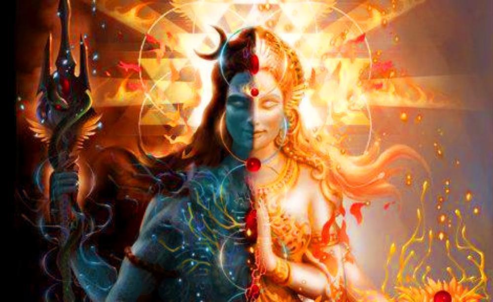 The Ardhanarishwar avatar of Lord Shiva. (Image: 3.bp.blogspot.com)