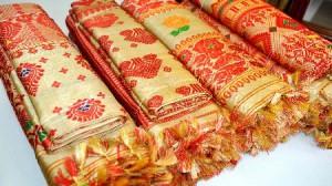 Muga Silk Fabric