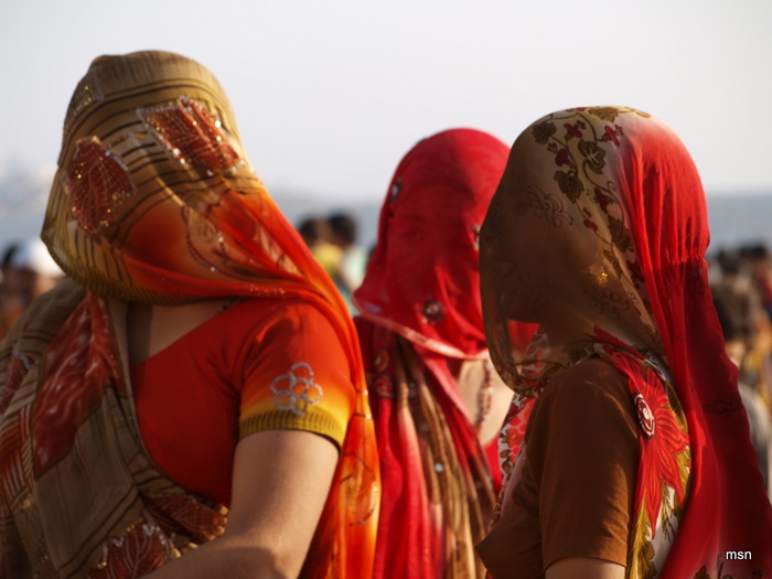 Veiled Indian Women