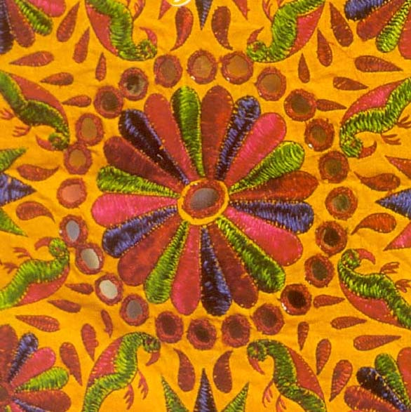 embroideries on gujrat The kutch work embroidery of gujarat is an easily identifiable embroidery style in india we look at a basic kutch work tutorial, and the history and future of this.