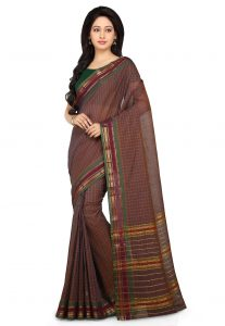 Handloom Cotton Narayanpet Saree