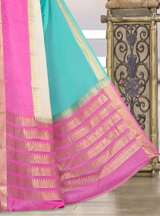 Karnataka Or Mysore Silk Saree