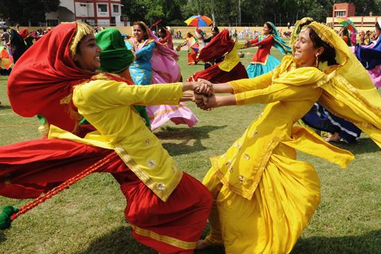 Women Performing Giddha (Source: PBS)