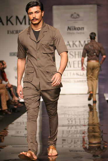 Indian Safari Suit (Image Courtesy: Fashionably Desi)
