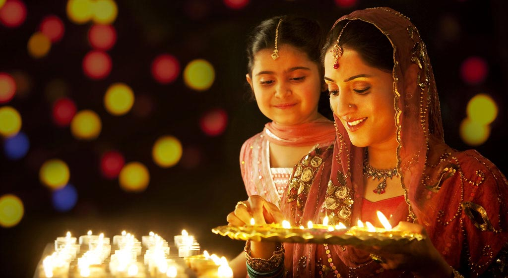 Image result for celebrate Diwali in India