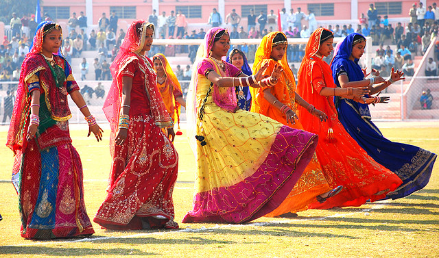 Ghoomar: A Traditional Bhil Tribe Folk Dance | Utsavpedia