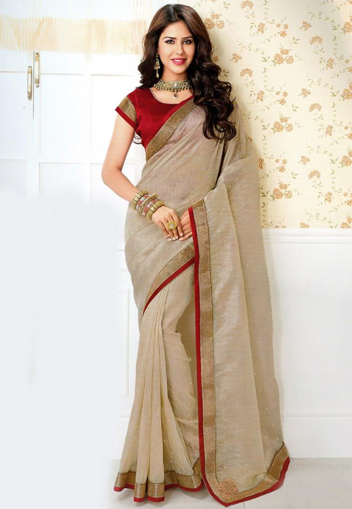 Khadi sari 707x1024 - Wedding Dress Designers
