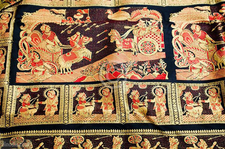 Image result for Baluchari saree image