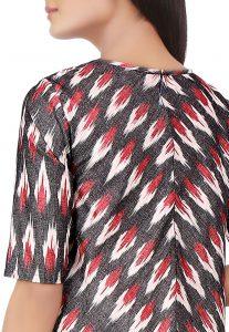 Ikat Woven Cotton Dress
