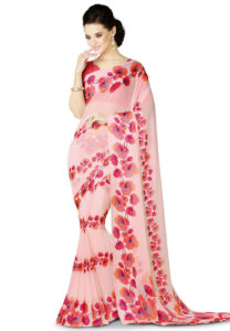 printed-georgette-saree