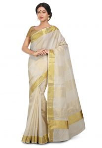 Was kerala traditional saree are certainly