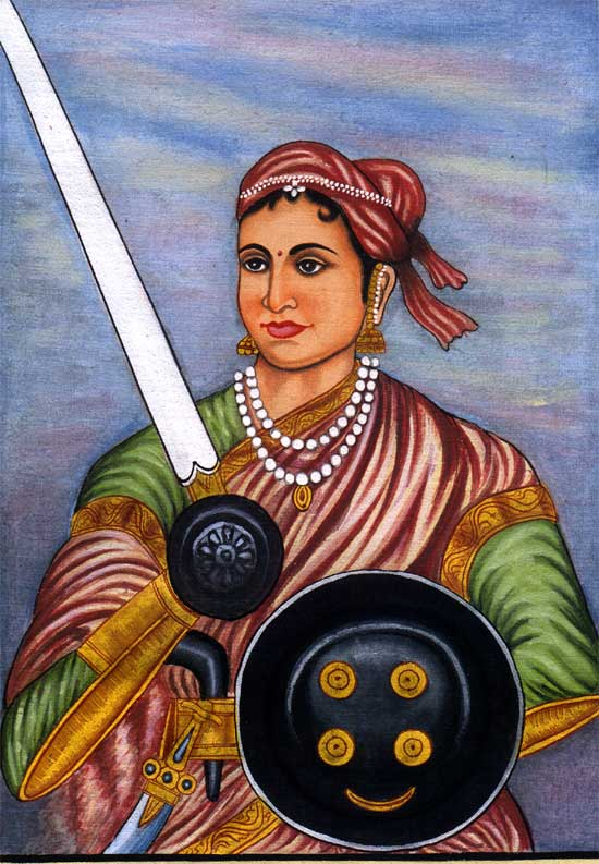 The Queen Rani Lakshmibai