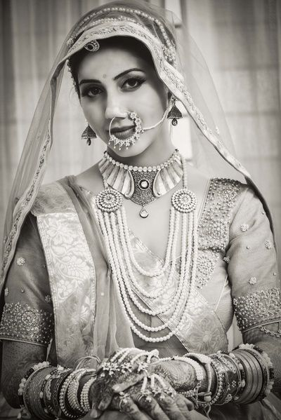 Rajasthani Bride Source Pinterest