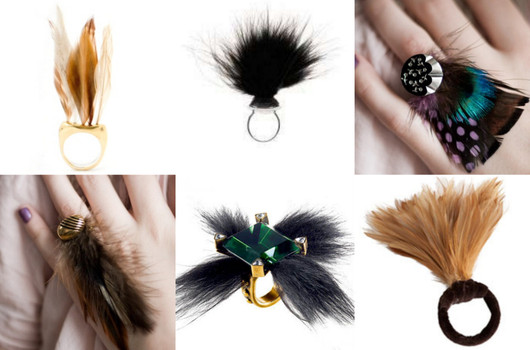 Different style feather and use
