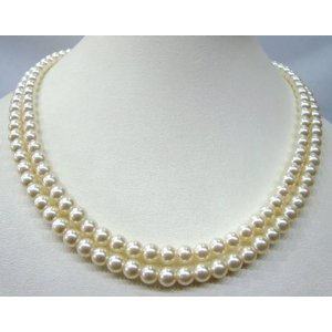 Real pearl set online shopping