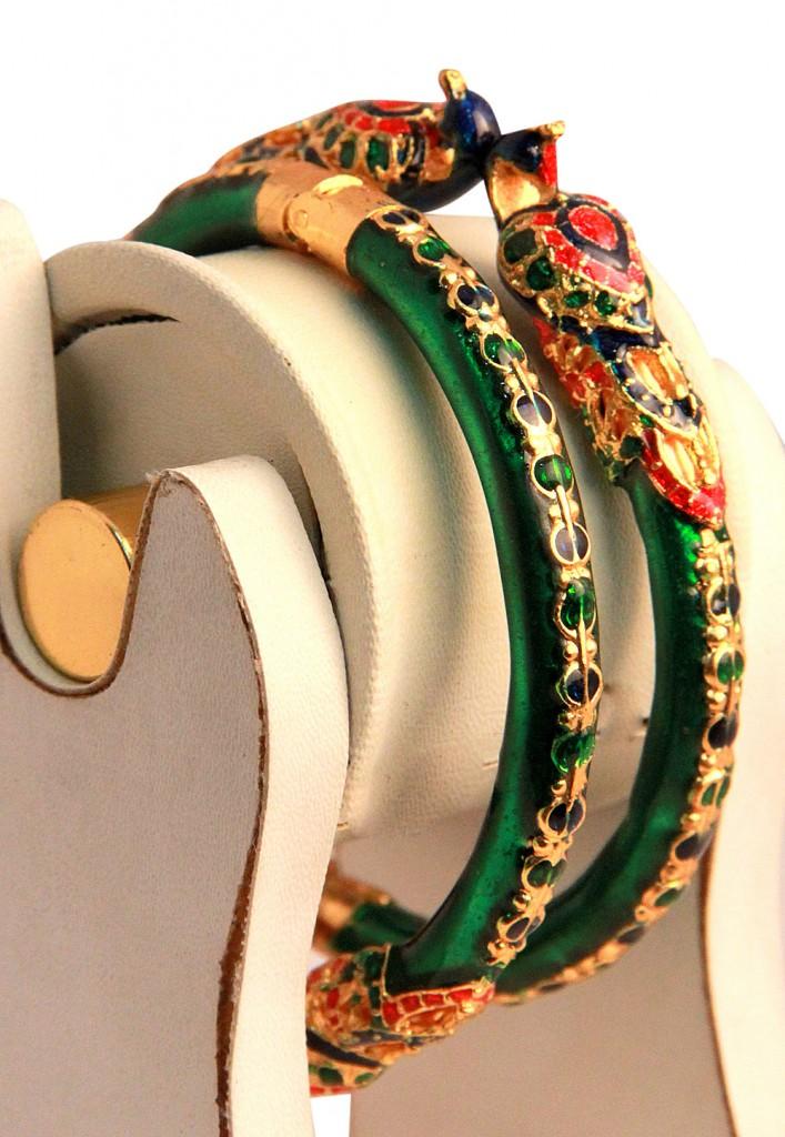 Meenakari Bangles at Utsav Fashion