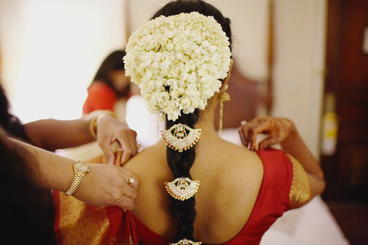 Gajras Image Courtesy: Black book for Indian bride