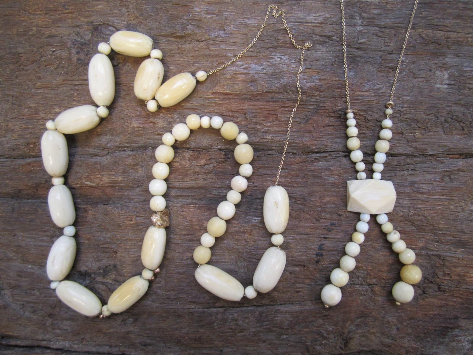 All About Antique Ivory Bead Jewelry | Utsavpedia