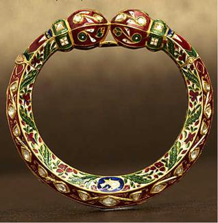 Jadau Work Bangle (Image Source: thehindu.com)