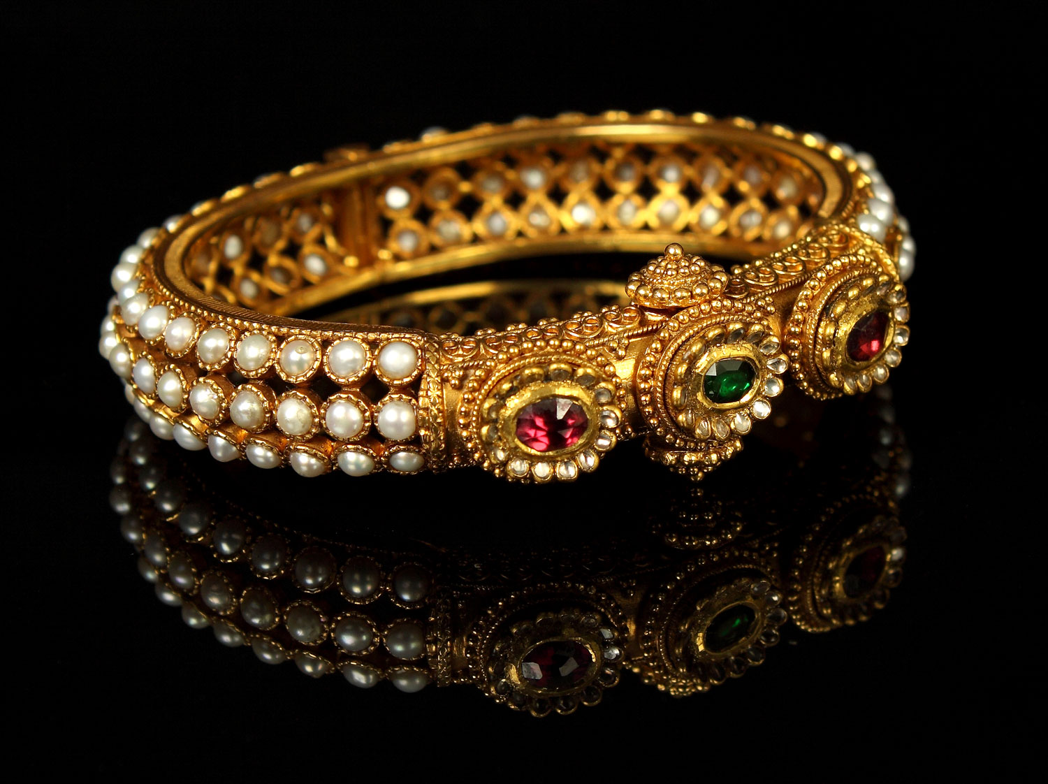 ladies stone bn indian bollywood gold b design bangle set s ebay bangles women jewellery churi