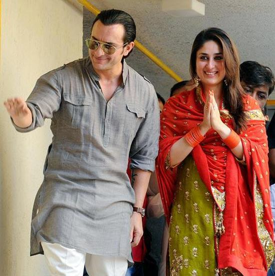Saif Kareena post wedding