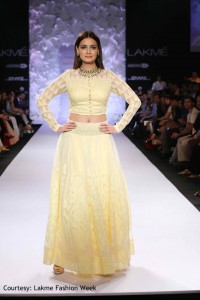 Dia Mirza walked for Anita Dongre