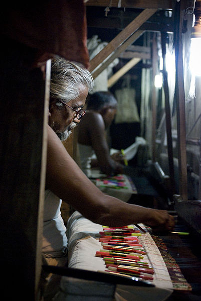 Traditional Silk Loom