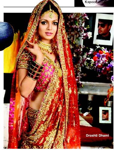 Drashti Dhami in a Neeta Lulla Lehenga (Source: indiatimes.com)