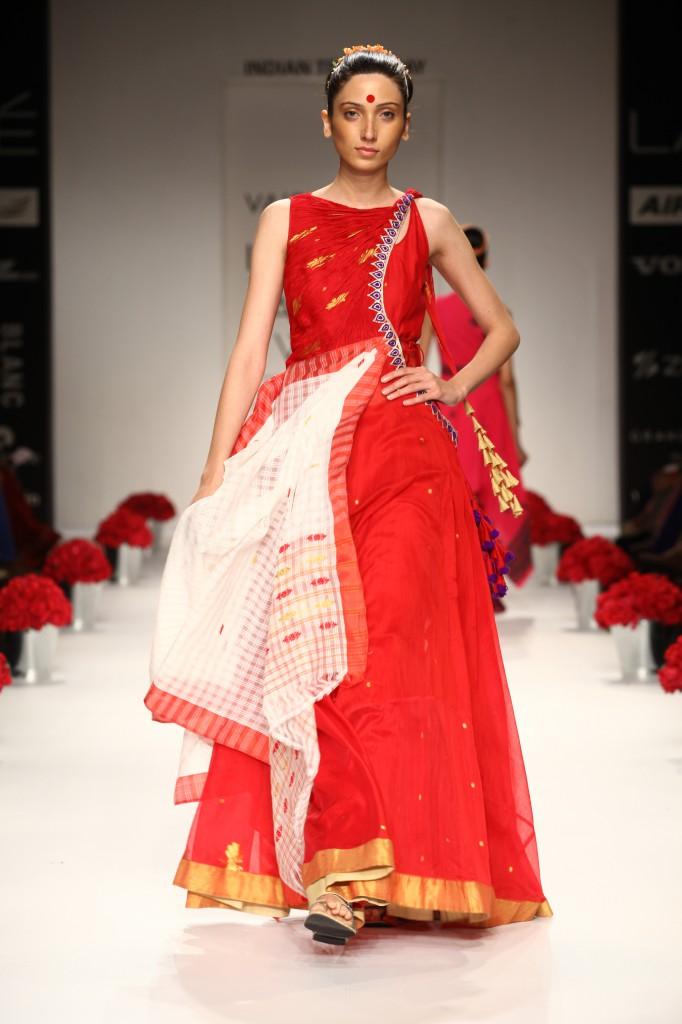 Designer Assamese Dress