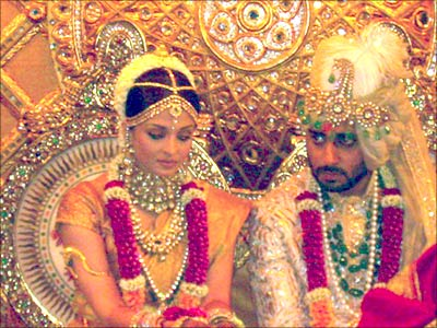 Abhishek Bachchan and Aishwarya Rai Wedding Ceremony | Utsavpedia