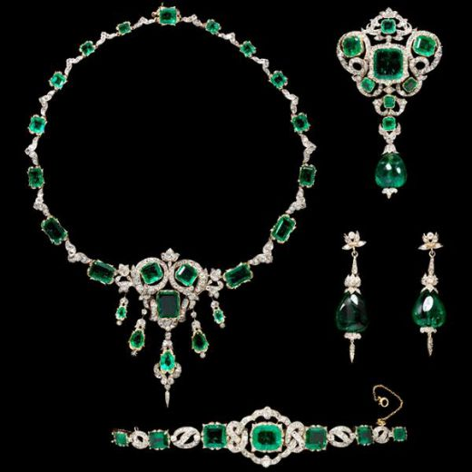 Emerald Gemstone Jewelry